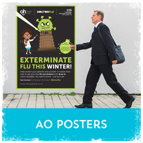 A2 Posters. Large format printing in Luton Printers / Luton Print shop