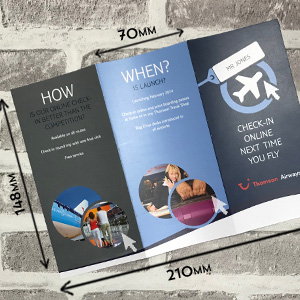 A5 folded leaflets printing in Luton Printers / Luton Print shop
