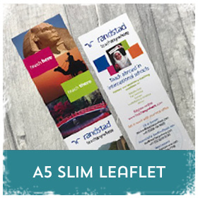 A5 slim flyers & leaflets printing in Luton Printers / Luton Print shop