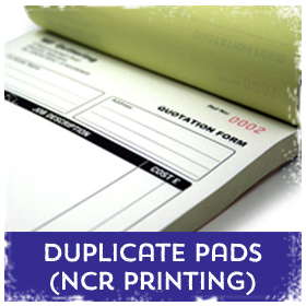 Duplicate Forms (ncr) printing in Luton Printers / Luton Print shop