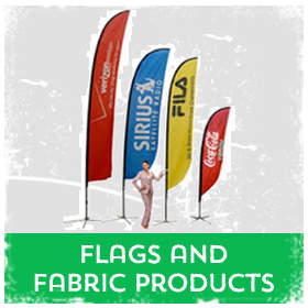 Flags & Fabric printing in Luton Printers / Luton Print shop