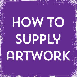 How to Supply artwork to our Luton Print shop