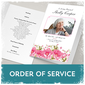 Funeral Order of Services printing in Luton Printers / Luton Print shop