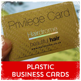 Plastic Business Cards printing in Luton