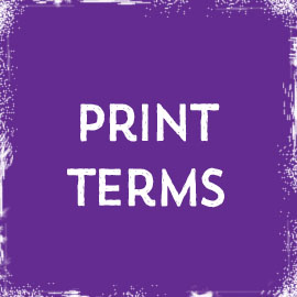 Print Terms at Jelprint Luton print shop