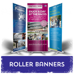 Roller Banners / Roll up Banners in Luton Printers / Luton Print shop