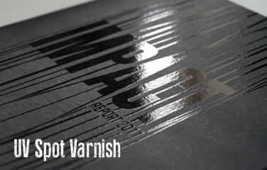 Spot Varnished Business Cards printing in Luton