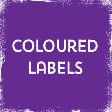Coloured Labels & Stickers printing in Luton Printers / Luton Print shop